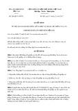 Quyết định số 289/QĐ-TANDTC