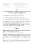 Quyết định số 39/2017/QĐ-UBND tỉnh Bắc Giang