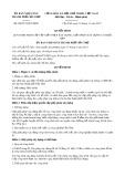 Quyết định số 08/2017/QĐ-UBND TP Cần Thơ