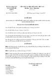 Quyết định số 20/2017/QĐ-UBND TP Hải Phòng