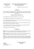 Quyết định số 48/2017/QĐ-UBND tỉnh Hà Nam