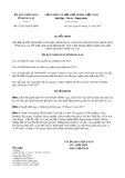 Quyết định số 31/2017/QĐ-UBND tỉnh Gia Lai