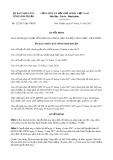 Quyết định số 122/2017/QĐ-UBND