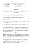 Quyết định số 28/2017/QĐ-UBND tỉnh Bình Dương