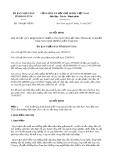 Quyết định số 1189/QĐ-UBND năm 2017