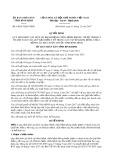 Quyết định số 64/2017/QĐ-UBND tỉnh Bình Định