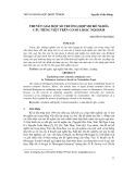 Thuyết giải một số trường hợp mơ hồ nghĩa câu tiếng Việt trên cơ sở logic nội hàm
