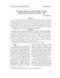"""Sự giống nhau về ẩn dụ ý niệm """"vị giác"""" trong ba ngôn ngữ Việt – Hán – Anh"""