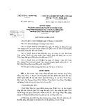 Quyết định số 2163/QĐ-TTg