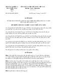 Quyết định số 4653/QĐ-BNN-KHCN năm 2017