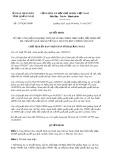 Quyết định số 2157/QĐ-UBND