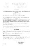 Quyết định số 5106/QĐ-BYT