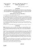 Quyết định số 3105/QĐ-UBND