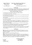 Quyết định số 3675/QĐ-UBND