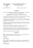 Quyết định số 5081/QĐ-BNN-TCLN