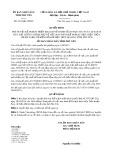 Quyết định số 2216/QĐ-UBND tỉnh Phú Yên