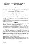Quyết định số 3629/QĐ-UBND