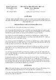 Quyết định số 2148/QĐ-UBND
