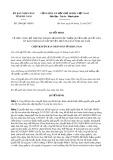 Quyết định số 2089/QĐ-UBND tỉnh Hà Nam