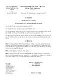Quyết định số 6433/QĐ-UBND