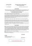 Quyết định số 4705/QĐ-BCT