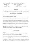 Quyết định số 2342/QĐ-UBND