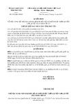Quyết định số 2330/QĐ-UBND