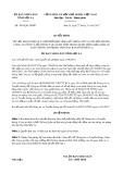 Quyết định số 3063/QĐ-UBND