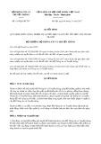 Quyết định số 1919/QĐ-BTTTT
