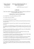 Quyết định số 2431/QĐ-UBND