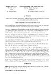 Quyết định số 2095/QĐ-UBND
