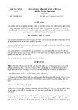 Quyết định số 2349/QĐ-BTC