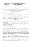 Quyết định số 4670/QĐ-UBND