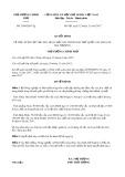 Quyết định số 2000/QĐ-TTg