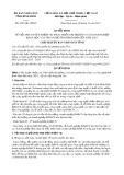 Quyết định số 4561/QĐ-UBND