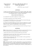 Quyết định số 2138/QĐ-UBND tỉnh Hà Nam