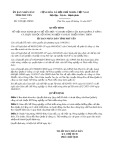 Quyết định số 2192/QĐ-UBND