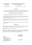 Quyết định số 3412/QĐ-UBND tỉnh An Giang