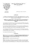 Quyết định số 4269/QĐ-BCĐDADNCT