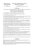 Quyết định số 3132/QĐ-UBND tỉnh Bình Thuận