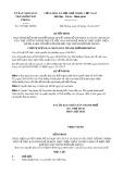 Quyết định số 3337/QĐ-UBND