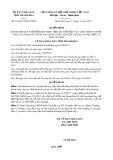 Quyết định số 4344/QĐ-UBND