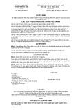 Quyết định số 8462/QĐ-UBND