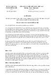 Quyết định số 8422/QĐ-UBND