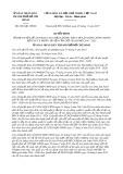 Quyết định số 6261/QĐ-UBND