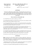 Quyết định số 3146/QĐ-UBND