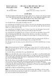 Quyết định số 4659/QĐ-UBND