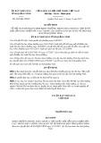 Quyết định số 4439/QĐ-UBND