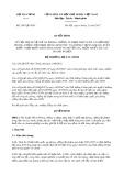 Quyết định số 2497/QĐ-BTC
