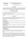 Quyết định số 4581/QĐ-UBND